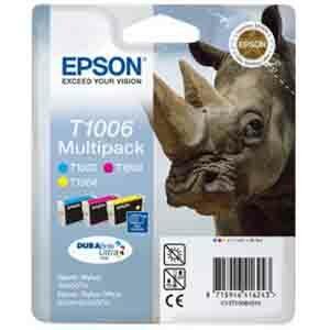 Cartucho de tinta Epson DURABrite T1006 - Cián, Magenta, Amarillo - Tinta - 815