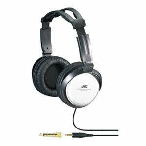 JVC HA-RX500 Full Size Headphone - Stereo - Silver - Mini-phone - Wired - 10 Hz 22 kHz - Over-the-head - Binaural - 11.48