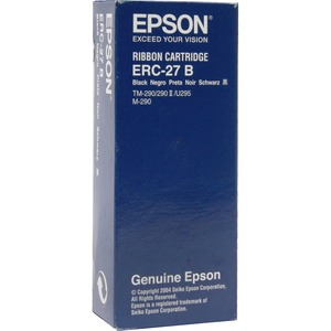 Epson Ribbon Cartridge - Dot Matrix - 750000 Characters - Black for use with Epson TM-U295