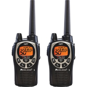 Midland GXT1000VP4  2--Way Pair Radio - 50 Radio Channels