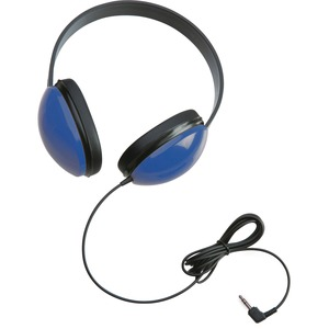Califone Childrens Stereo Blue Headphone Lightweight - Stereo - Blue - Mini-phone - Wired - 25 Ohm - 20 Hz 20 kHz - Over-t