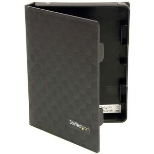 StarTech.com 2.5in Anti-Static Hard Drive Protector Case - Black (3pk) - Polypropylene - Black - 1 Hard Drive