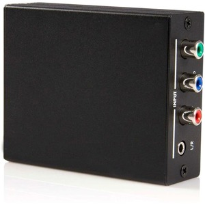 StarTech.com Converge A/V Component with Audio to HDMI® Format Converter - Video converter - HDMI ( HDCP ) - 1 x Mini-phon