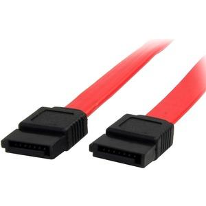 StarTech.com 91cm SATA Serial ATA Cable - First End: 1 x Female SATA - Second End: 1 x Female SATA - 6 Gbit/s - Red