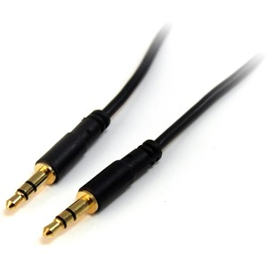 StarTech.com 1.83 m Audio Cable for Audio Device, iPhone, iPod, iPad, MP3 Player, Headphone - First End: 1 x Mini-phone Ma