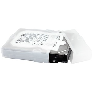 StarTech.com 3.5in Silicone Hard Drive Protector Sleeve with Connector Cap - Shock Resistant, Impact Resistant, Damage Res