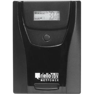 SAI de línea interactiva Riello NetPower NPW 1500 - 1,50 kVA/900 W - Torre - 4 Hora(s) Tiempo de Recarga de Batería - 230