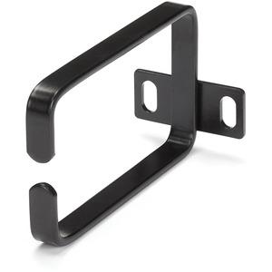 StarTech.com 1U Vertical 2.2 x 3.9in Server Rack Cable Management D-Ring Hook w/ Flexible Opening - Network Rack-Mount Cor