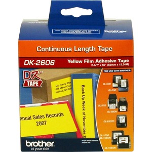 Brother Continuous Length Film Tape - 2 7/16