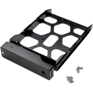 """Synology Disk Tray (Type D5). Size (imperial): 2.5/3.5"""", Type: Bezel panel, Product colour: Black. Width: 113 mm, Depth: 1"""