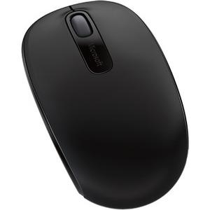 Mouse Microsoft 1850 - Radiofrecuencia - USB 2.0 - Óptico - 3 Botón(es) - Negro - Inalámbrico - 2.40GHz - 1000 dpi - Rueda
