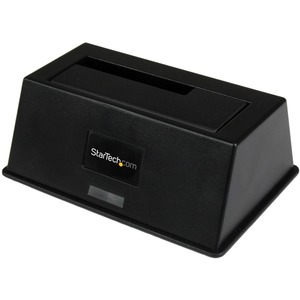 StarTech.com eSATA / USB 3.0 SATA III Hard Drive Docking Station SSD / HDD with UASP - 1 x HDD Supported - 1 x SSD Support