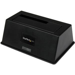 StarTech.com Estación de Acoplamiento USB 3.0 UASP eSATA para Conexión de Disco Duro SSD SATA III - Docking Station - 1 x