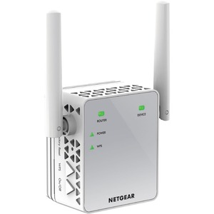 Range extender wireless Netgear EX3700 - IEEE 802.11ac - 750 Mbit/s - 2,40 GHz, 5 GHz1 x Rete (RJ-45) - Ethernet, Fast Eth