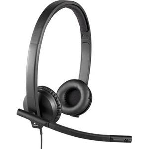 Cuffie Logitech H570e Cavo Over-the-head Stereo - Binaural - Supra-aural - 31,50 Hz a 20 kHz - Cancellazione del rumore, E
