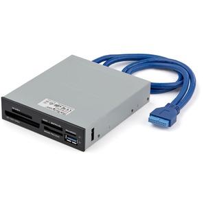 StarTech.com Lector Interno USB 3.0 para Tarjetas Memoria Flash con Soporte para UHS-II - SD, MultiMediaCard (MMC), SDXC,