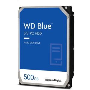 WD Blue 500 GB 3.5-inch SATA 6 Gb/s 5400 RPM 64 MB Cache PC Hard Drive - 5400rpm - 64 MB Buffer - 2 Year Warranty