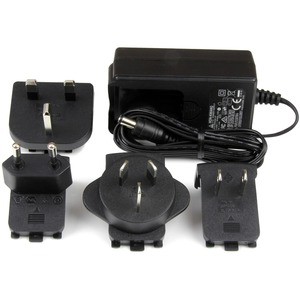 StarTech.com Replacement 9V DC Power Adapter - 9 Volts, 2 Amps - 1 Pack - For KVM Console, KVM Extender, KVM Switch - Euro