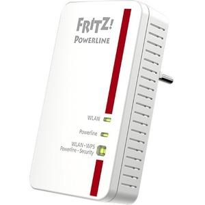 Adattatore Powerline Network - FRITZ! 1240E - 2 - 1 x Rete (RJ-45) - 1200 Mbit/s Powerline - LAN wireless - IEEE 802.11n -