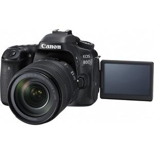 Canon 80DSK EOS 80D SUPER KIT WITH E FS18-135 IS USM LENS DIGITAL CAMERA
