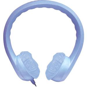 FLEX PHONES FOAM HEADPHONES 3.5MM PLUG BLUE - Stereo - Blue - Mini-phone - Wired - 32 Ohm - 20 Hz 20 kHz - Over-the-head -