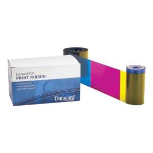Datacard 534000-006 Ribbon - YMCKT-KT - Dye Sublimation, Thermal Transfer - 300 Cards