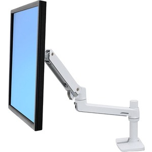 """Ergotron Mounting Arm for Monitor - White - 1 Display(s) Supported81.3 cm (32"""") Screen Support - 11.34 kg Load Capacity"""