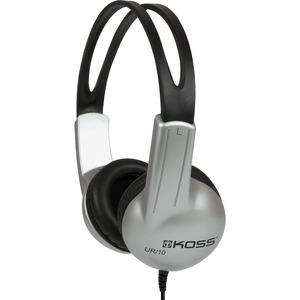 Koss UR10 HB Headphone - Stereo - Mini-phone - Wired - 32 Ohm - 60 Hz 20 kHz - Over-the-head - Binaural - Circumaural - 4