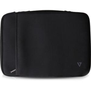 """Funda de transporte V7 Elite (Funda) para 33,8 cm (13,3"""") Chromebook - Negro"""
