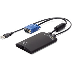 StarTech.com KVM Cable for KVM Console, Notebook - TAA Compliant - First End: 1 x Type A Female USB - Second End: 1 x Type
