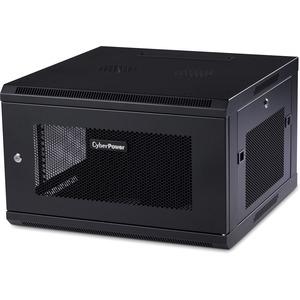 "CyberPower EIA-310 Standard 19"" Rack - For LAN Switch, Patch Panel - 6U Rack Height x 19"" (482.60 mm) Rack Width x 22.30"""