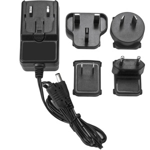 StarTech.com Replacement 12V DC Power Adapter - 12 Volts, 2 Amps - 1 Pack - For Media Converter, Drive Enclosure, Docking