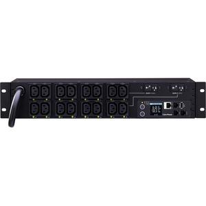 CyberPower PDU81007 16-Outlet PDU - NEMA L6-30P - 16 x IEC 60320 C13 - 230 V AC - Network (RJ-45) - 2U - Rack-mountable