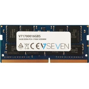 V7 RAM Module for Notebook - 16 GB (1 x 16 GB) - DDR4-2133/PC4-17000 DDR4 SDRAM - 2133 MHz - CL15 - Unbuffered - 260-pin -