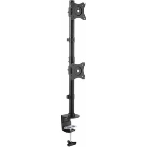 "StarTech.com Desk Mount Dual Monitor Mount - Vertical - Steel Dual Monitor Arm - For VESA Mount Monitors up to 27"" - Adjus"