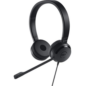 Dell Pro UC350 Wired Over-the-head Stereo Headset - Binaural - Supra-aural - Mini-phone (3.5mm)