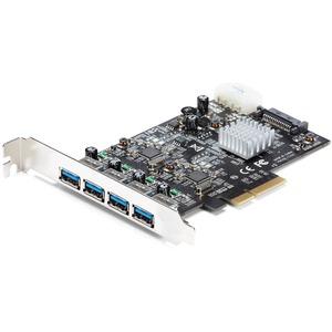 Tarjeta PCI Express de 4 Puertos USB 3.1 - con Puertos USB-A y 2 Canales Dedicados StarTech.com PEXUSB314A2V