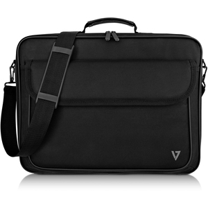 "V7 Essential CCK16-BLK-3E Carrying Case (Briefcase) for 40.6 cm (16"") Notebook - Black - 600D Polyester, 210D Polyester In"