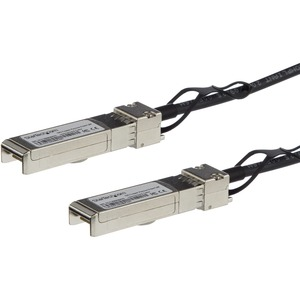 StarTech.com MSA Uncoded Compatible 5m 10G SFP+ to SFP+ Direct Attach Cable - 10 GbE SFP+ Copper DAC 10 Gbps Low Power Pas