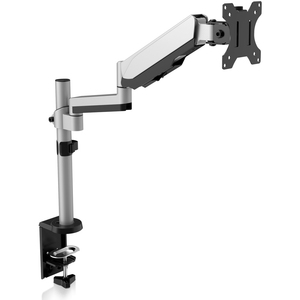 """V7 DM1TA-1E Desk Mount for Monitor - Silver - 1 Display(s) Supported81.3 cm (32"""") Screen Support - 8 kg Load Capacity"""