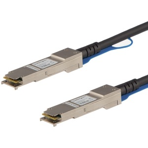 StarTech.com 10 m Twinaxial Network Cable for Network Device, Server, Switch - 1 - First End: 1 x QSFP+ Male Network - Sec