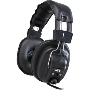Cyber Acoustics Pro Series ACM-500RB Headphone - Stereo - Mini-phone - Wired - 20 Hz 20 kHz - Gold Plated Connector - Over