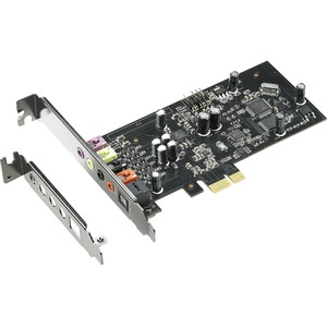 ASUS Xonar SE 5.1 PCIe Gaming Sound Card 192kHz/24-bit HI-res Audio 116dB SNR