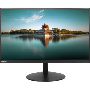 "Lenovo ThinkVision T24i-10 23.8"" Full HD LED LCD Monitor - 16:9 - Black - 23.80"" (604.52 mm) Class - 1920 x 1080 - 16.7 Mi"