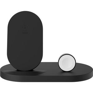 BELKIN 7.5W WIRELESS CHARGE DOCK IPHONE + APPLE WATCH BLACK