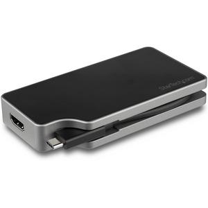 USB C Multiport Video Adapter - 4K 60Hz UHD Portable 5-in-1 USB Type C to HDMI 2.0, Mini DisplayPort, VGA or DVI (1080p) -