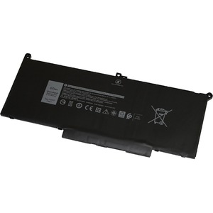 V7 Replacement Battery for Selected DELL Laptops - For Notebook - Battery Rechargeable - 7.6 V DC - 7894 mAh - Lithium Pol