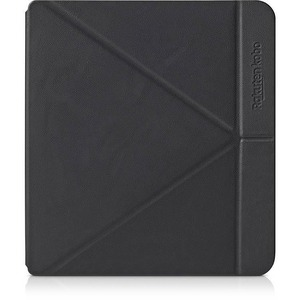 Kobo SleepCover Carrying Case Kobo Digital Text Reader - Black - PU Leather