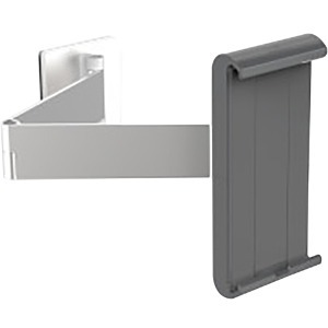 KENSINGTON DURABLE UNIVERSAL TABLET HOLDER WALL MOUNT ARM FOR ALL 7-13IN TABLETS GREY