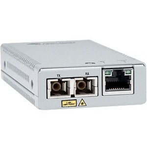 Convertitore file multimediali/ricetrasmettitore Allied Telesis MMC2000/SC - TAA Conforme - 2 Porta(e) - 1 x Rete (RJ-45)